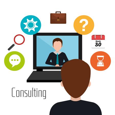 socializing: Los medios sociales y marketing digital dise�o gr�fico, ilustraci�n vectorial