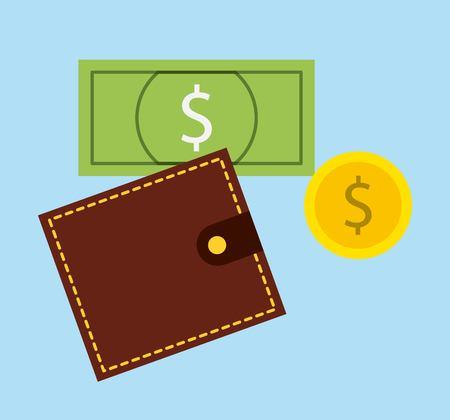 e cash: electronic commerce design, vector illustration eps10 graphic