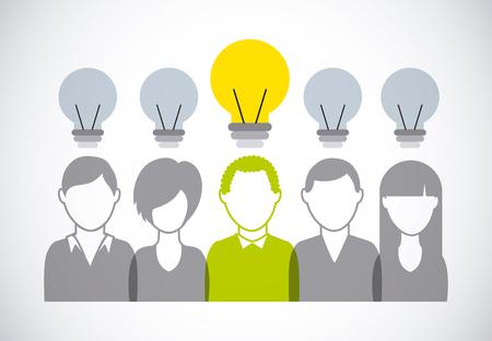teamwork: collaborative teamwork design, vector illustration eps10 graphic Illustration