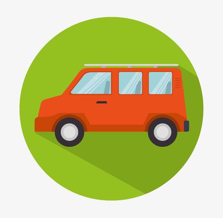 grahic: Transport vehicle service grahic design, vector illustration