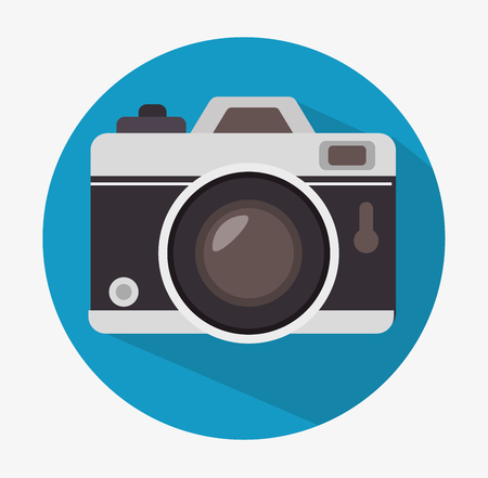 photography: Camera and photography design, vector illustration graphic