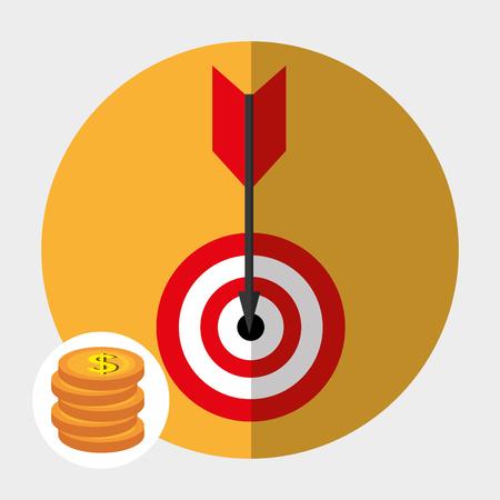 stock broker: Stock market graphic design, vector illustration eps10 Illustration