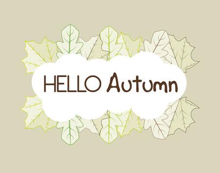 botan: Ecology leaves, leaf graphic design icons, vector illustration Illustration