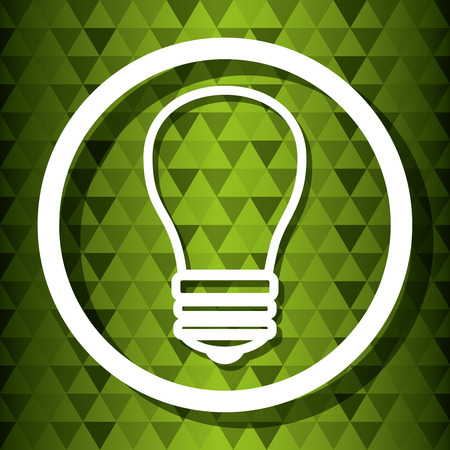 environmental contamination: Ecology and green energy graphic design, vector illustration eps10