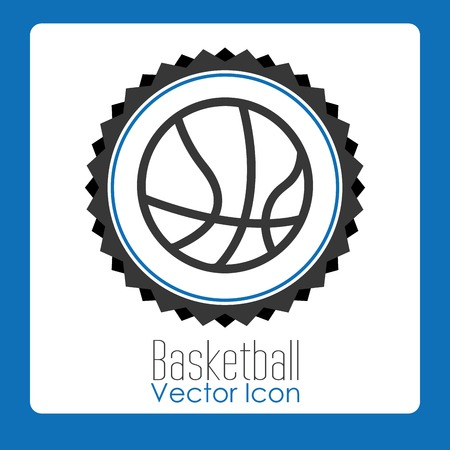 nba: basketball league design, vector illustration eps10 graphic Illustration