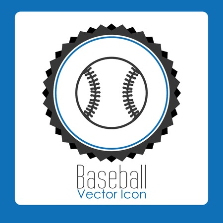 softball: baseball sport design, vector illustration eps10 graphic