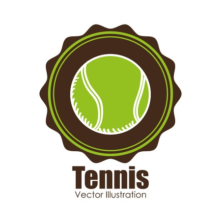 indoor court: tennis sport design, vector illustration eps10 graphic
