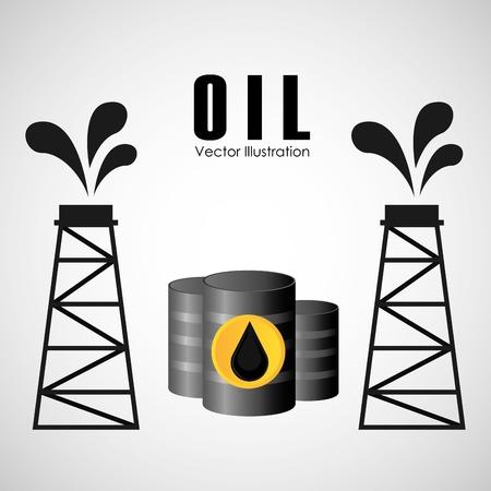 oil industry design Banco de Imagens - 49094788