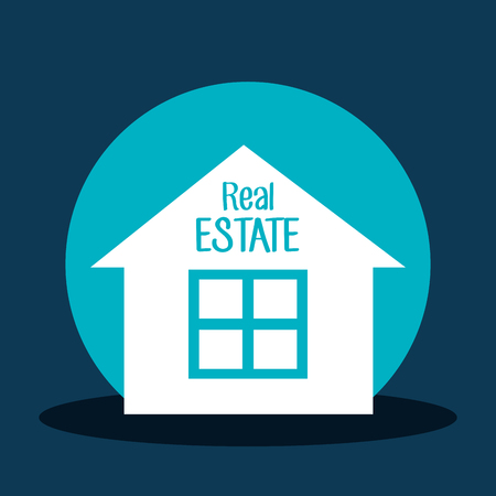 real estate investment: Real estate investment graphic design, vector illustration