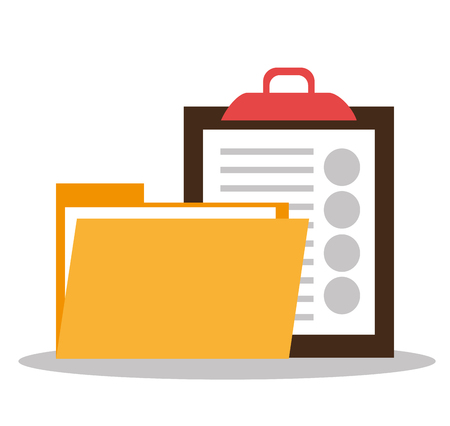 stack of files: Files and documents  graphic design, vector illustration eps10 Illustration