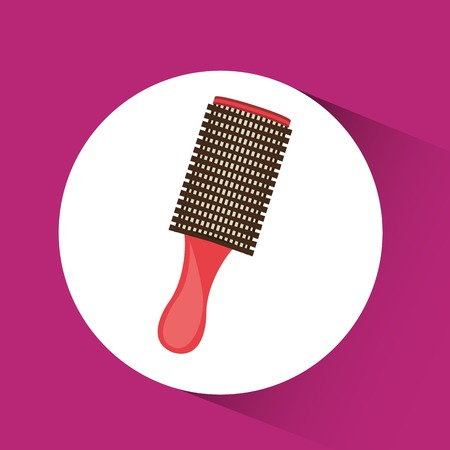 hairdressing: hairdressing equipment design, vector illustration  graphic