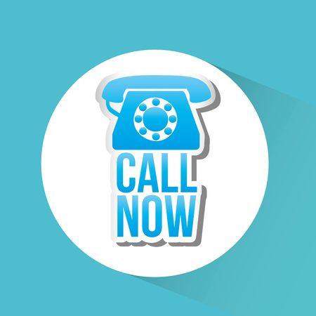 telemarketer: customer service design, vector illustration  graphic