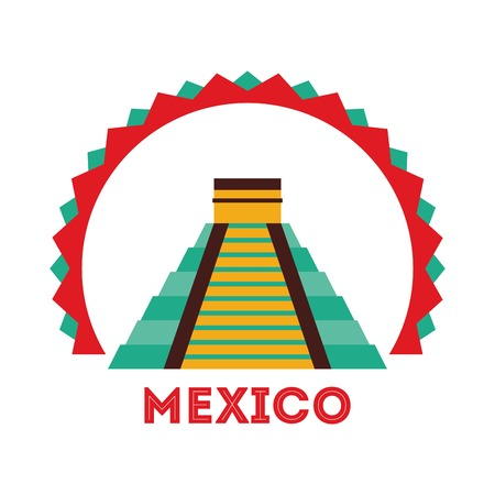 mayas: mexican culture design, vector illustration eps10 graphic Illustration