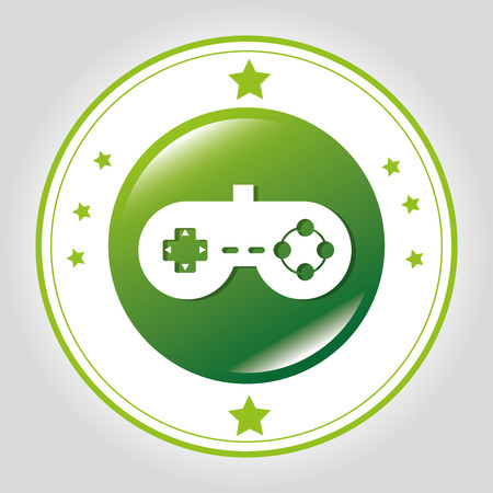 videogame: Videogame Line icon graphic design, vector illustration eps10