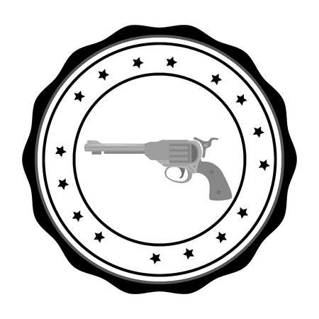 weapons: Guns and weapons graphic design, vector illustration eps10 Illustration