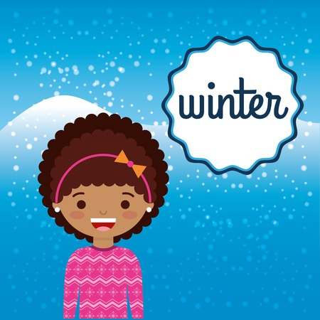 winter clothes: winter clothes design, vector illustration eps10 graphic