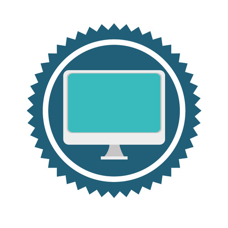 electronic device: Technology electronic device icon graphic design, vector illustration eps10