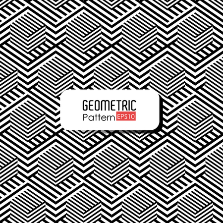 thirties: Geometric pattern design, vector illustration eps 10