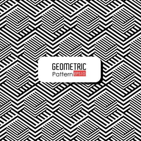 intersecting: Geometric pattern design, vector illustration eps 10