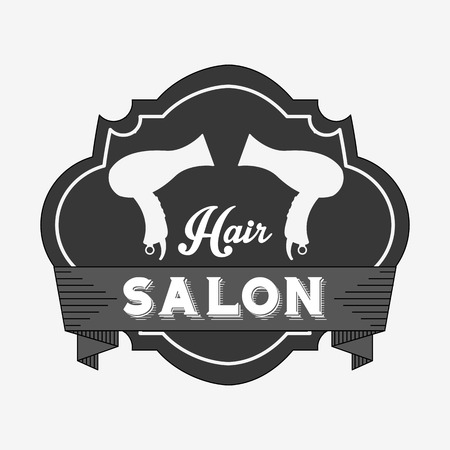 haircutting: hair salon  design, vector illustration eps10 graphic Illustration