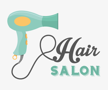hairstyling: hair salon  design, vector illustration eps10 graphic Illustration