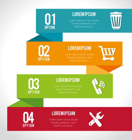 numers: infographic and banners graphic design