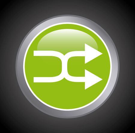 computer button: computer button design, vector illustration eps10 graphic