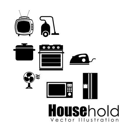 hold: house hold design, vector illustration eps10 graphic Illustration
