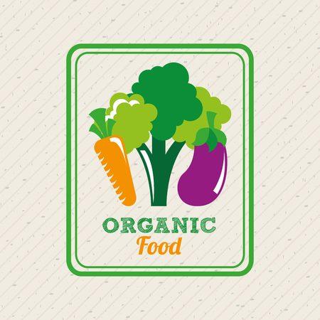 food market: health and organic food design, vector illustration eps10 graphic