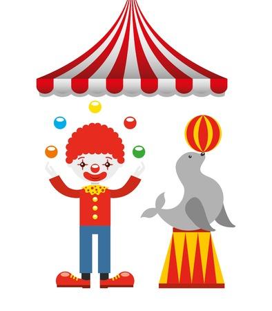 fondo de circo: dise�o entretenimiento circense