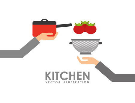 home products: kitchen concept  design, vector illustration eps10 graphic