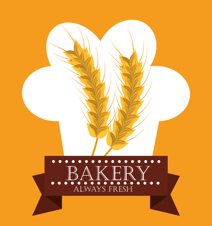 aliment: Bakery food and gastronomy graphic design, vector illustration