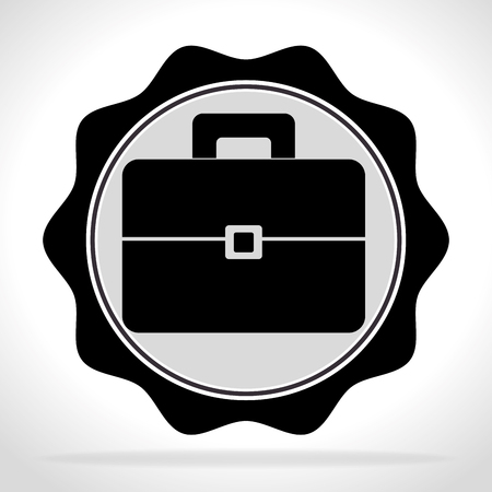 business briefcase: Business briefcase graphic design, vector illustration eps10