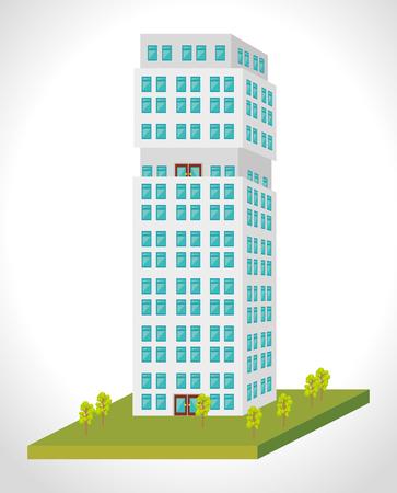 urbanization: Urban and cityscape design, vector illustration graphic