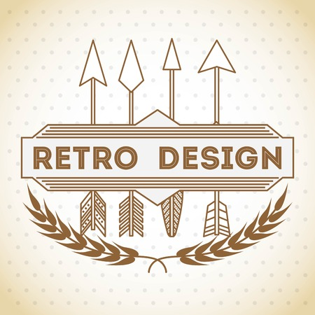 vintage fashion: retro style design, vector illustration eps10 graphic