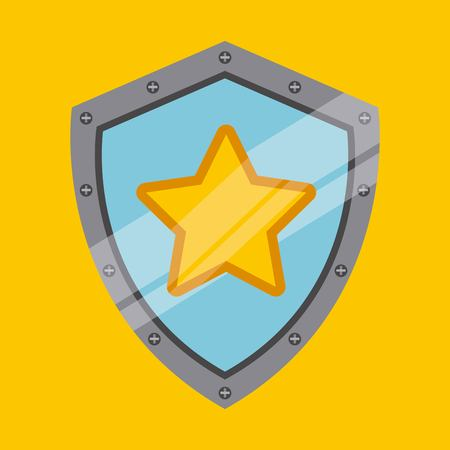 eps10: security system design, vector illustration eps10 graphic Illustration