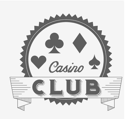 classics: casino club design, vector illustration eps10 graphic