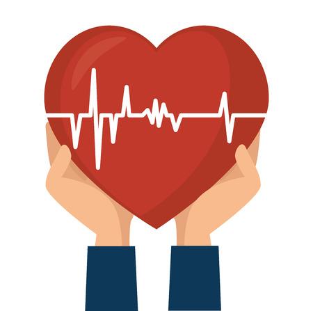 Medisch gezondheidszorg grafisch ontwerp, vectorillustratie eps10