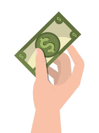 abundance: Money saving and investment graphic design, vector illustration