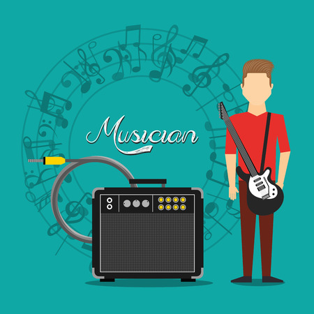 instrument panel: music lifestyle design, vector illustration eps10 graphic