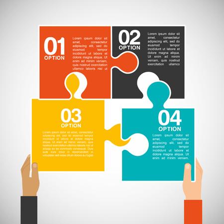 collaborative: collaborative concept design, vector illustration eps10 graphic Illustration