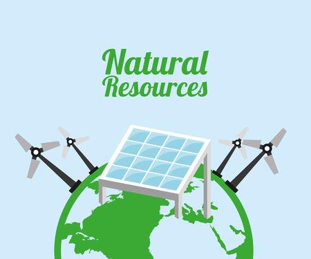 energías renovables: diseño de los recursos naturales