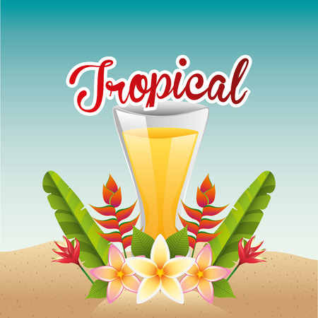 tropical: tropical paradise design