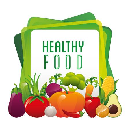 gezonde voeding ontwerp