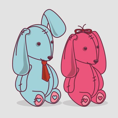 romantic: Valentines day romantic graphic design