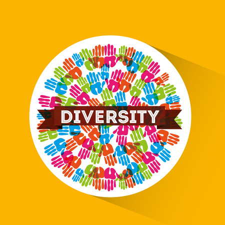 eps10: diversity people design, vector illustration eps10 graphic