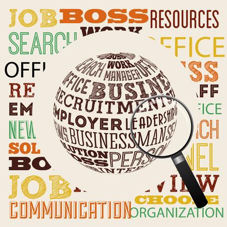jobs: jobs concept design, vector illustration eps10 graphic