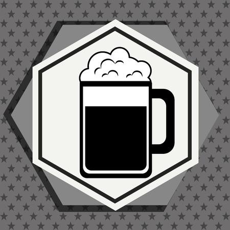 nutriments: Premium beer graphic design, vector illustration eps10 Illustration