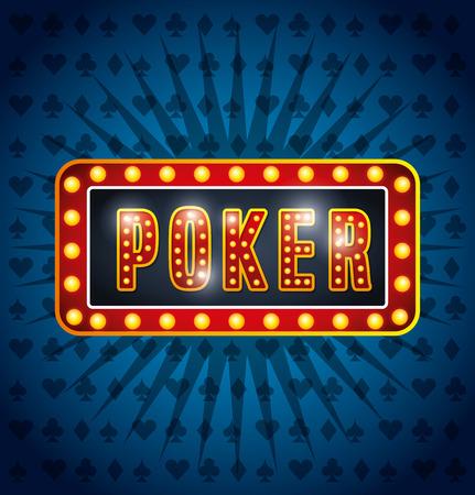 bet: casino games design, vector illustration eps10 graphic Illustration