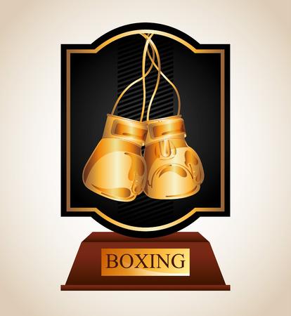 championship: boxing championship design, vector illustration eps10 graphic